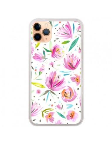 Coque iPhone 11 Pro Max Painterly Waterolor Texture - Ninola Design