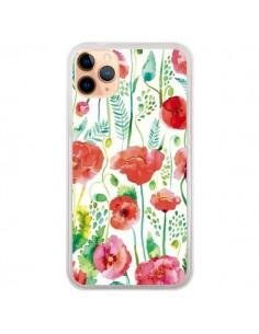 Coque iPhone 11 Pro Max Planets Constellation Pink - Ninola Design