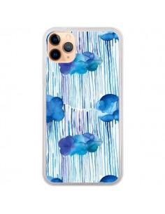 Coque iPhone 11 Pro Max Rain Stitches Neon - Ninola Design
