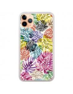 Coque iPhone 11 Pro Max Tigers and Leopards Yellow - Ninola Design