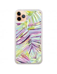 Coque iPhone 11 Pro Max Tropical Flowers Multicolored - Ninola Design