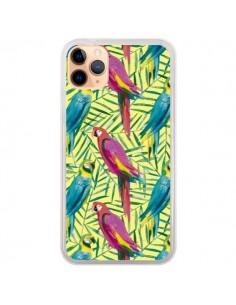 Coque iPhone 11 Pro Max Tropical Monstera Leaves Multicolored - Ninola Design