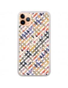 Coque iPhone 11 Pro Max Tropical Palms Blue - Ninola Design
