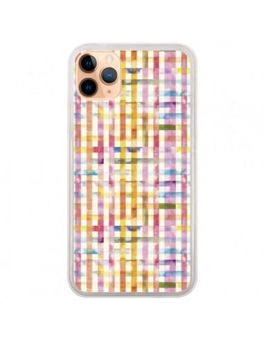 Coque iPhone 11 Pro Max Vichy Black Yellow - Ninola Design