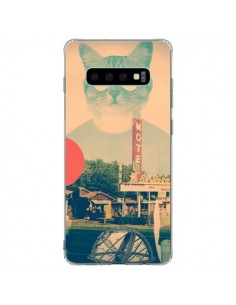 Coque Samsung S10 Plus Chat Fashion The Cat - Ali Gulec