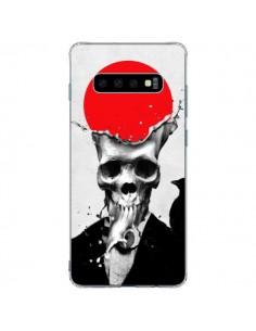 Coque Samsung S10 Plus Splash Skull Tête de Mort - Ali Gulec