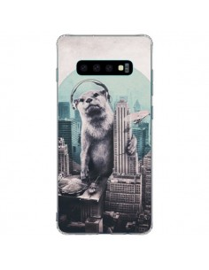 Coque Samsung S10 Plus Loutre Dj New York - Ali Gulec