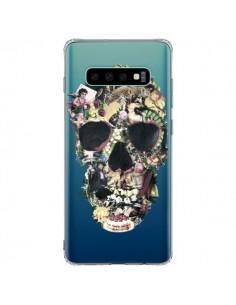 Coque Samsung S10 Plus Skull Vintage Tête de Mort Transparente - Ali Gulec