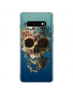 Coque Samsung S10 Plus Garden Skull Tête de Mort Transparente - Ali Gulec