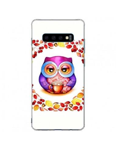 Coque Samsung S10 Plus Chouette Automne - Annya Kai