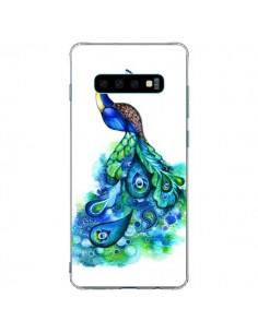 Coque Samsung S10 Plus Paon Multicolore - Annya Kai