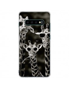 Coque Samsung S10 Plus Girafe Swag Lunettes Familiy Giraffe - Asano Yamazaki
