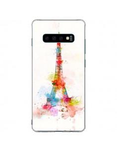 Coque Samsung S10 Plus Paris Tour Eiffel Muticolore - Asano Yamazaki
