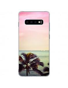 Coque Samsung S10 Plus Sunset Palmier Palmtree - Asano Yamazaki