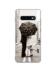 Coque Samsung S10 Plus Secret under Umbrella Amour Couple Love - Asano Yamazaki
