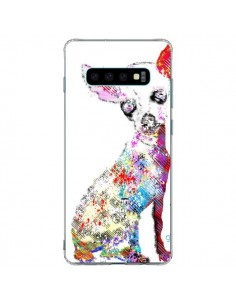Coque Samsung S10 Plus Chien Chihuahua Graffiti - Bri.Buckley