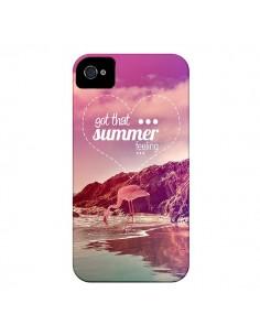 Coque Summer Feeling Été pour iPhone 4 et 4S - Eleaxart