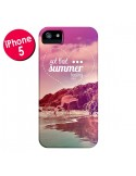 Coque Summer Feeling Été pour iPhone 5 et 5S - Eleaxart