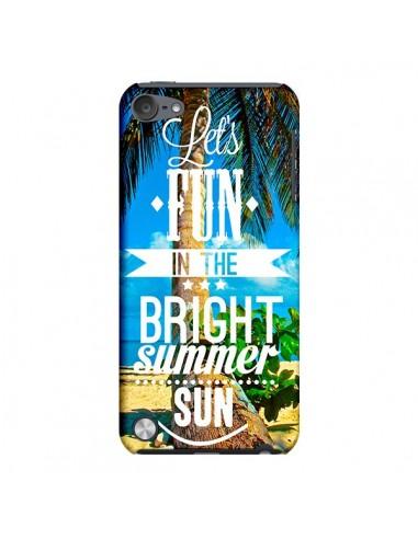 Coque Fun Summer Sun Été pour iPod Touch 5 - Eleaxart