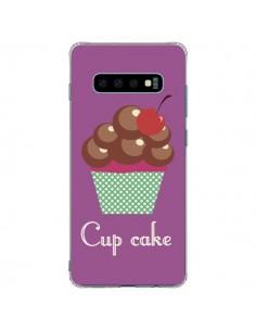 Coque Samsung S10 Plus Cupcake Cerise Chocolat - Léa Clément
