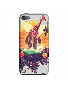 Coque Girafflower Girafe pour iPod Touch 5 - Eleaxart