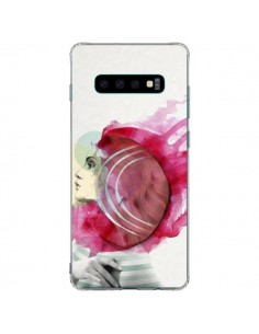 Coque Samsung S10 Plus Bright Pink Femme - Jenny Liz Rome