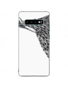 Coque Samsung S10 Plus Peacock Paon Robe Femme - Jenny Liz Rome