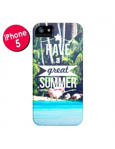 Coque Have a Great Summer Été pour iPhone 5 et 5S - Eleaxart