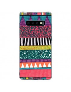 Coque Samsung S10 Plus Azteque Dessin - Kris Tate