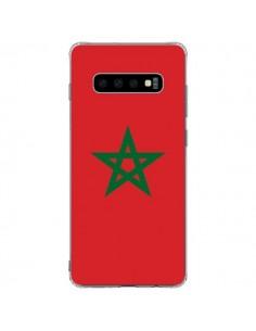 Coque Samsung S10 Plus Drapeau Maroc Marocain - Laetitia