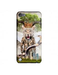 Coque Hear Me Roar Leopard pour iPod Touch 5 - Eleaxart