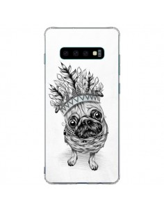 Coque Samsung S10 Plus Indian Dog Chien Indien Chef Couronne - LouJah