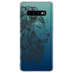 Coque Samsung S10 Plus Lion Poétique Transparente - LouJah