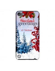 Coque Voeux Joyeux Noël pour iPod Touch 5 - Eleaxart