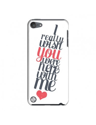 Coque Here with me pour iPod Touch 5 - Eleaxart