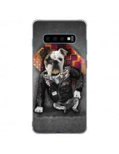 Coque Samsung S10 Plus Chien Bad Dog - Maximilian San