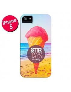 Coque Glace Ice Cream Été pour iPhone 5 et 5S - Eleaxart