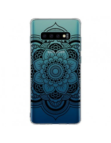 Coque Samsung S10 Plus Mandala Noir...