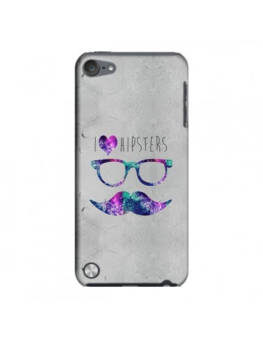 Coque I Love Hipsters pour iPod Touch 5 - Eleaxart