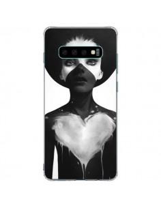 Coque Samsung S10 Plus Fille Coeur Hold On - Ruben Ireland