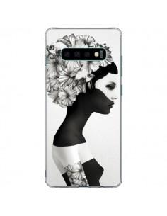 Coque Samsung S10 Plus Marianna Fille Fleurs - Ruben Ireland et Jenny Liz Rome