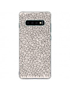 Coque Samsung S10 Plus A lot of cats chat - Santiago Taberna