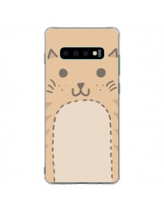 Coque Samsung S10 Plus Big Cat chat - Santiago Taberna