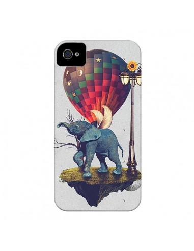 Coque Elephant Lfant pour iPhone 4 et 4S - Eleaxart