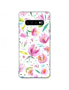 Coque Samsung S10 Plus Painterly Waterolor Texture - Ninola Design