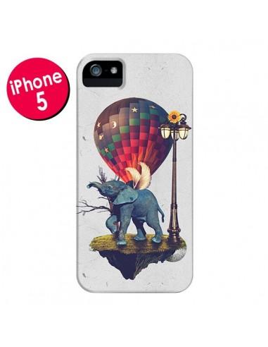 Coque Elephant Lfant pour iPhone 5 et 5S - Eleaxart