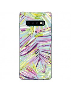 Coque Samsung S10 Plus Tropical Flowers Multicolored - Ninola Design
