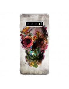 Coque Samsung S10 Skull Flower Tête de Mort - Ali Gulec