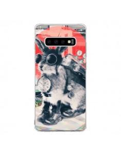 Coque Samsung S10 Lapin Time Traveller - Ali Gulec