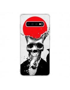 Coque Samsung S10 Splash Skull Tête de Mort - Ali Gulec